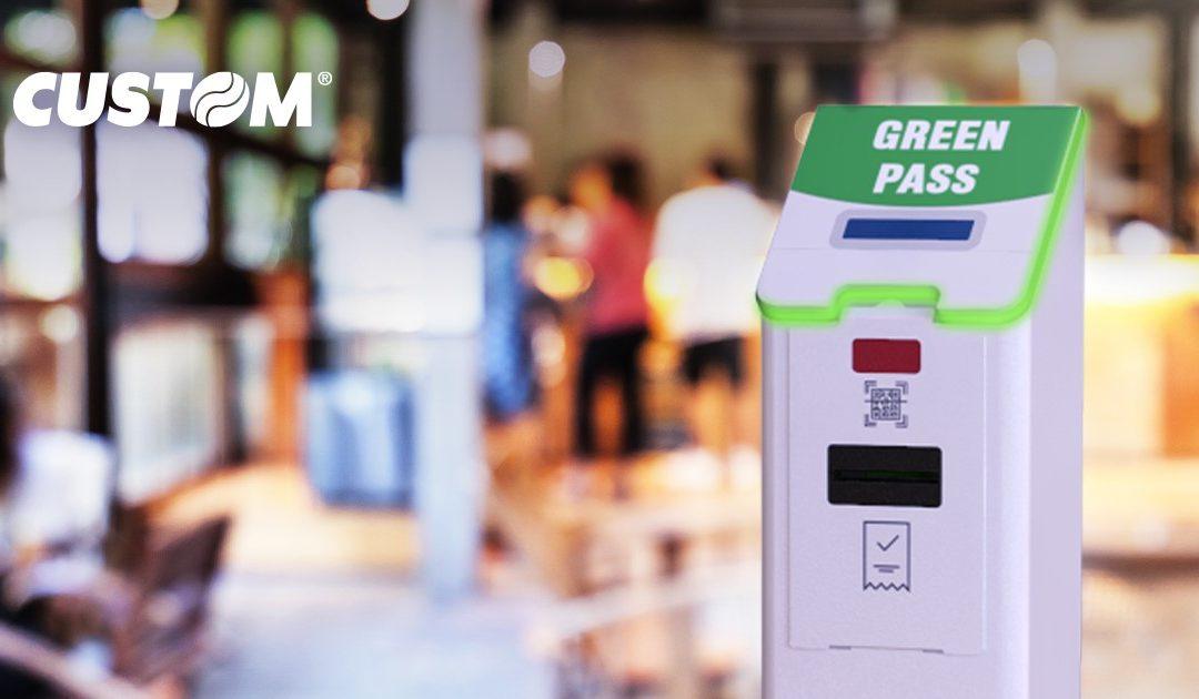 Controllo accessi non presidiato – Lettore di Green Pass